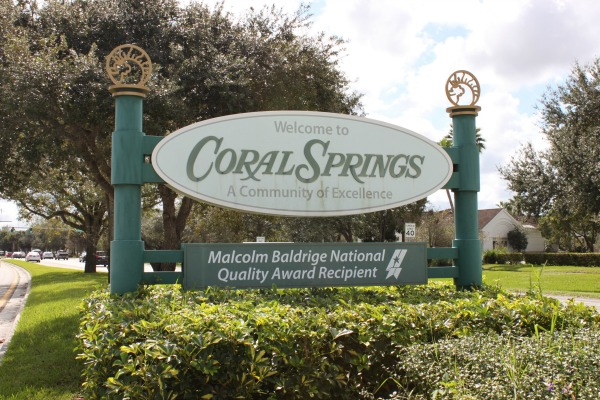 Coral Springs Malcolm Baldridge National Quality Award