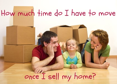 How much time do i have to move once i sell my home When is the best time to move house