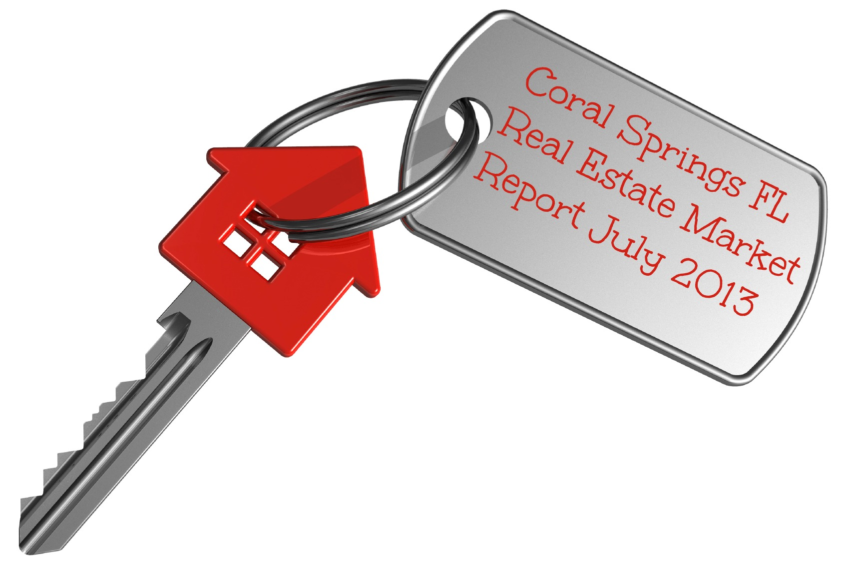 Coral Springs Florida home sales Report July 2013