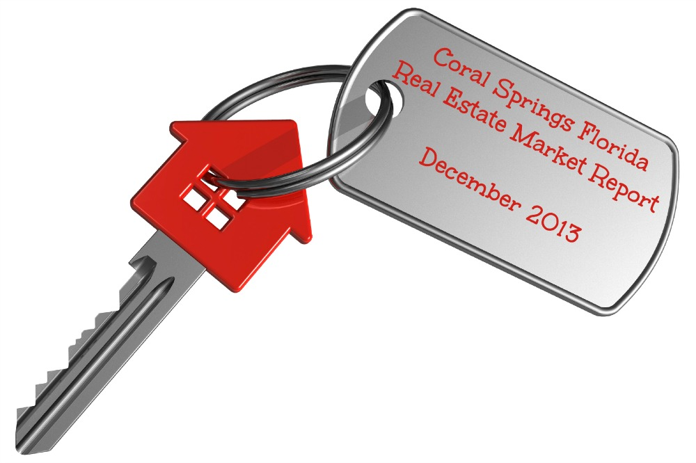 Coral Springs Real Estate Market Report Dec 2013