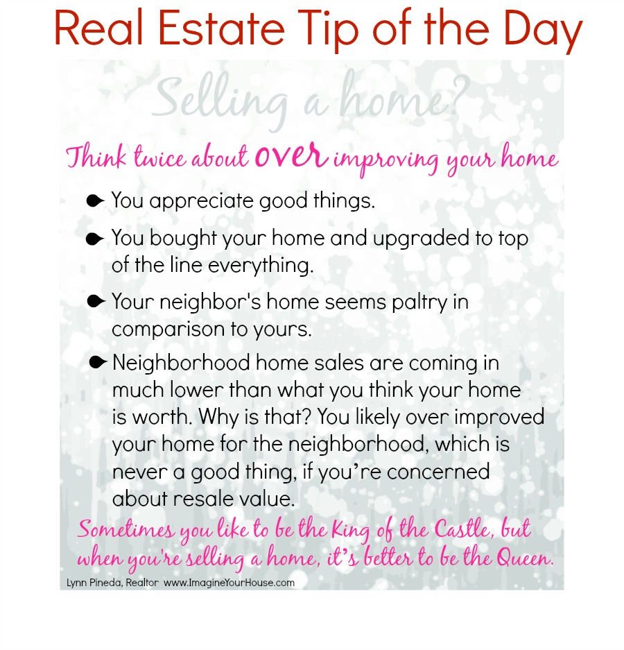 Real Estate Tip of the Day Jan 30, 2014 IYH