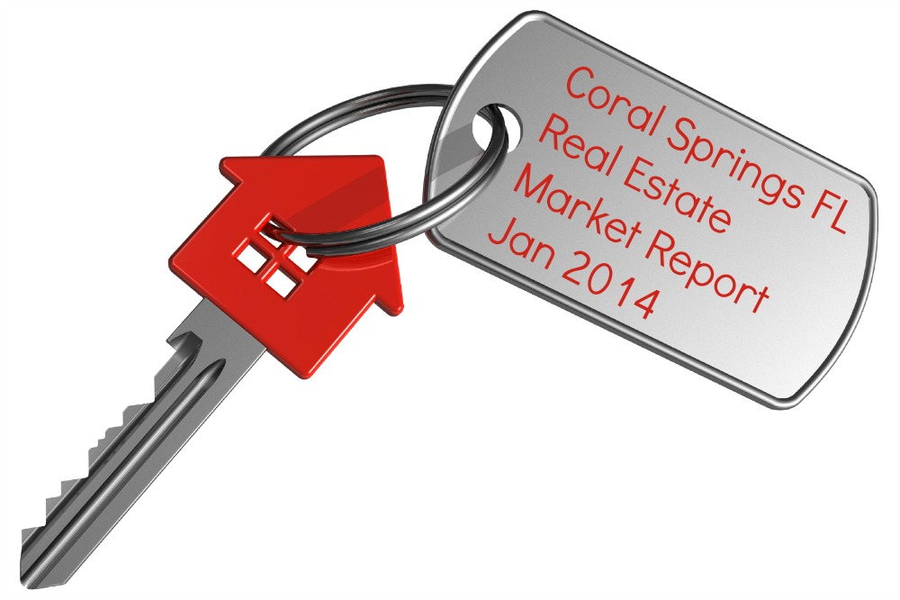 Coral Springs Real Estate Market Report Jan 2014