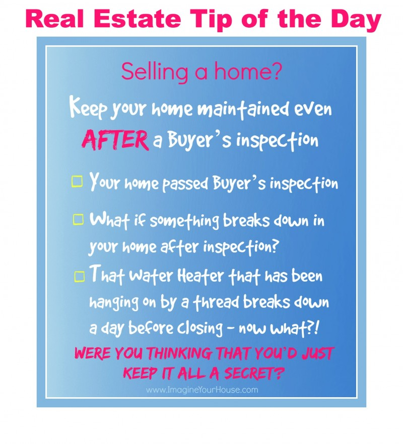 Real Estate Tip of the Day