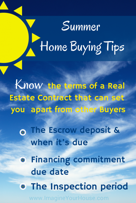 Are you ready for some summer home buying tips for Tips before buying a house