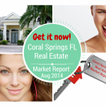 Homes for sale in Coral Springs FL - Real Estate Market Report Aug 2014