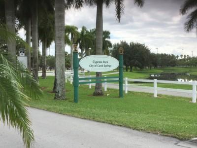 Cypress Run Park in Coral Springs