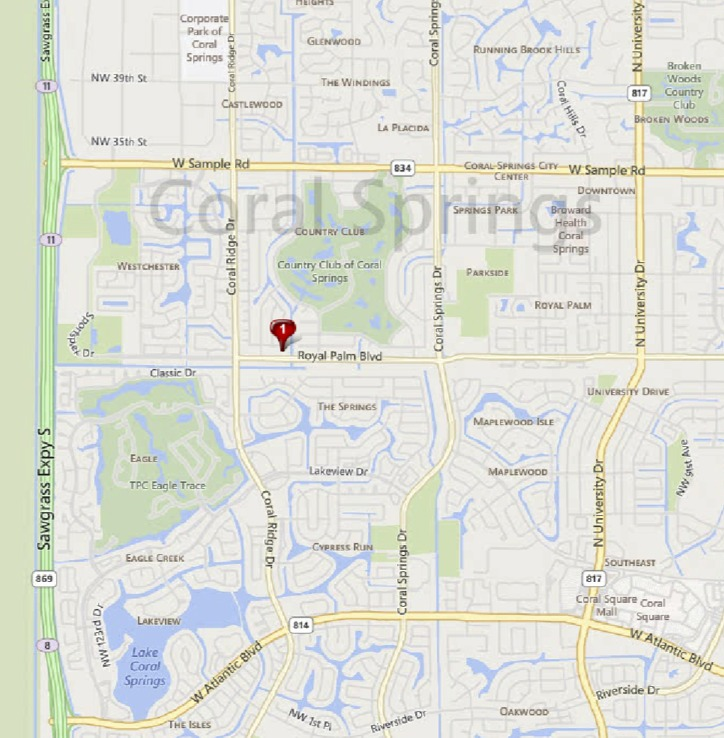 Coral Springs Country Club Home sales