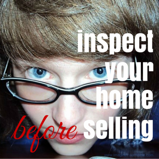Selling a home? Inspect first