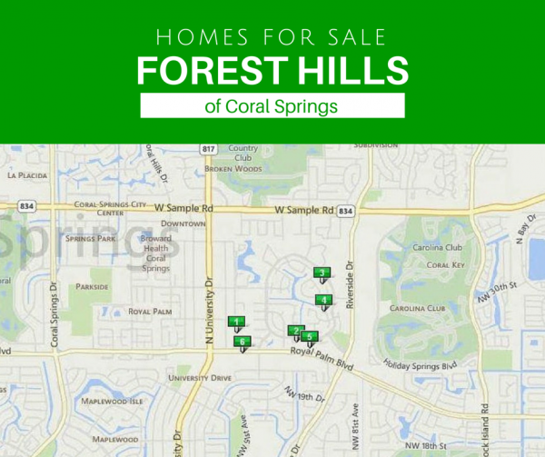 Sell home in Forest Hills of Coral Springs