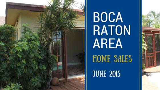 Boca Raton East Real Estate Market Neighborhood Home Sales