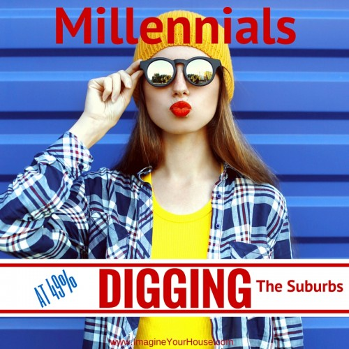 Millennials digging the suburbs
