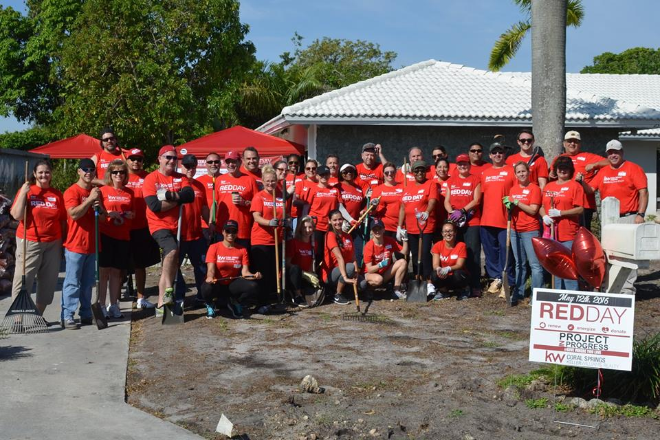 The Story of Keller Williams Realty Coral Springs RED Day 2016