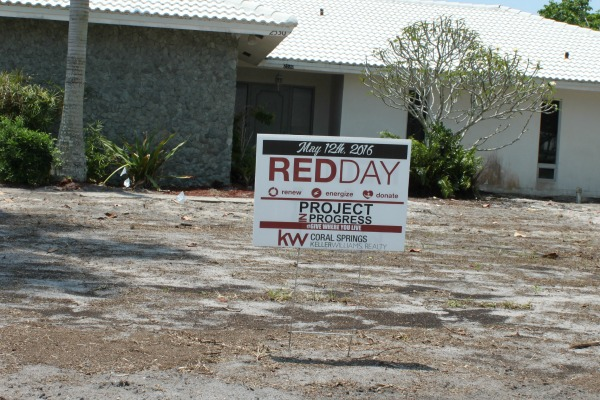 RED Day in Progress Coral Springs