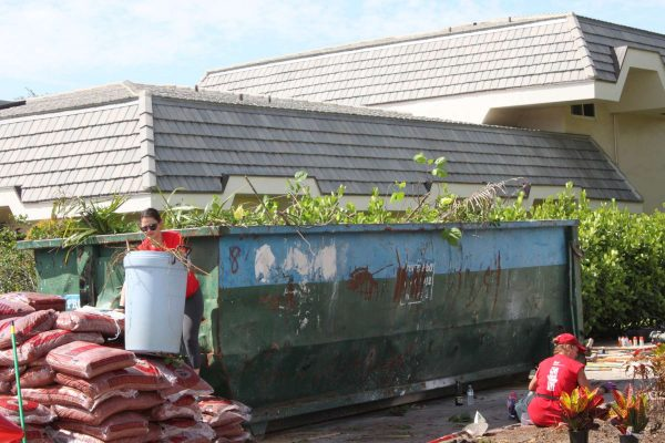 Waste Pro Dumpster at Keller Williams Red Day Coral Springs