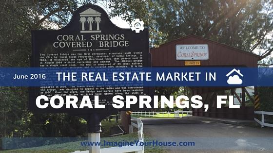 Housing statistics for Coral Springs June 2016