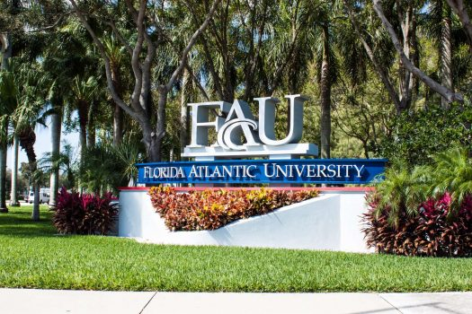 FAU in Boca Raton Florida