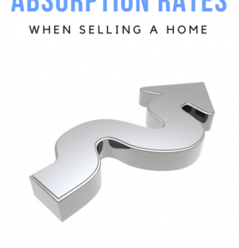What can an Absorption rate tell you when selling your home?