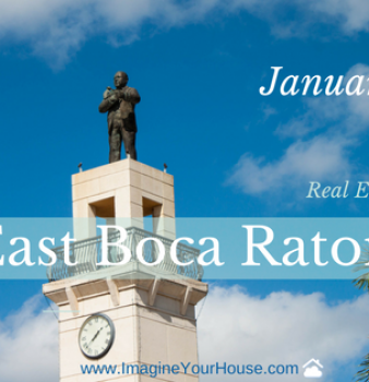 East Boca Raton FL Real Estate Market Report for Jan 2017