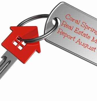 Coral Springs FL Real Estate Market Report Aug 2013