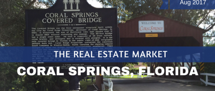 Coral Springs FL Real Estate Market Report Aug 2017