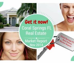 Coral Springs FL Real Estate Market Report November 2014