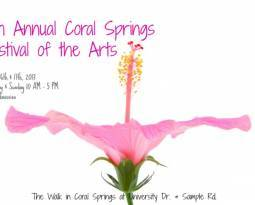 9th Annual Coral Springs Festival of the Arts is this weekend!
