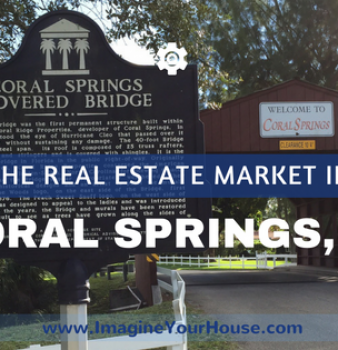 Coral Springs Real Estate Market Report Aug 2016