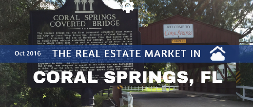 Coral Springs Real Estate Market Report Oct 2016