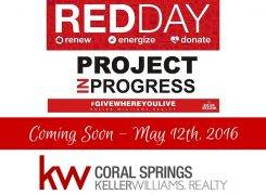 Keller Williams Realty Coral Springs Red Day May 12, 2016
