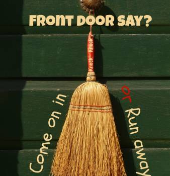 Knock Knock . . . what does your front door say?