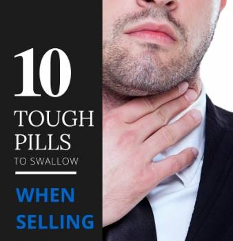 10 Tough Pills to Swallow when Selling a Home