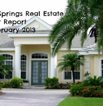Coral Springs FL Real Estate Market Report  for February 2013